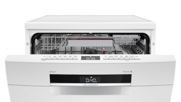 Bosch SMS6EDW02G 60cm White Dishwasher
