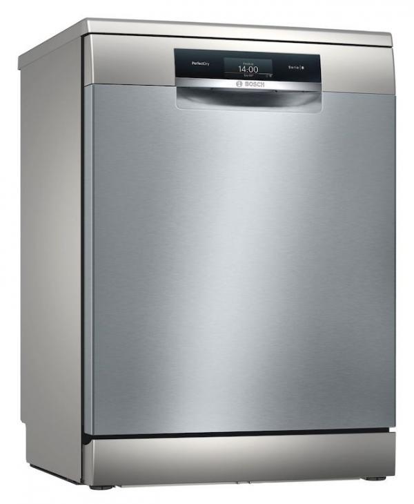 Bosch SMS8YCI01E 60cm Silver Zeolith Dishwasher