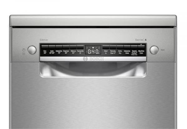 Bosch SPS4HKI45G 45cm Stainless Steel Dishwasher