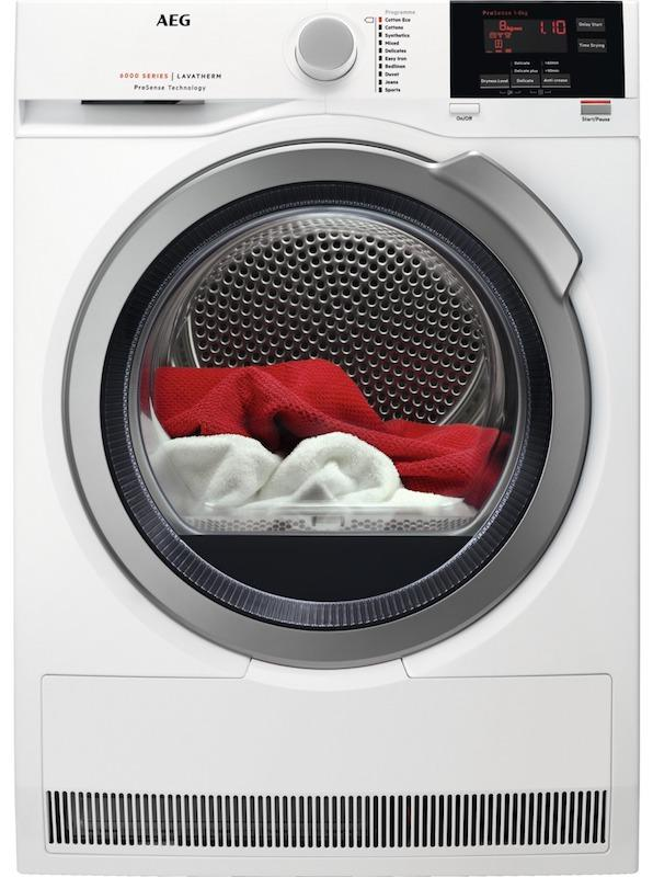 AEG T6DBG822N Condenser Tumble Dryer