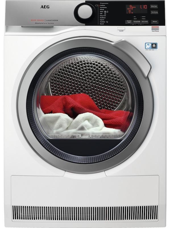 AEG T8DEE845R Heat Pump Tumble Dryer