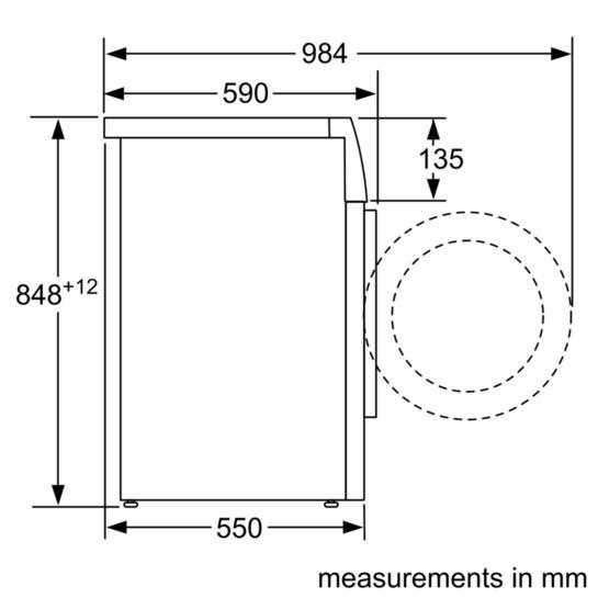 Bosch WAB28162GB Freestanding Washing Machine