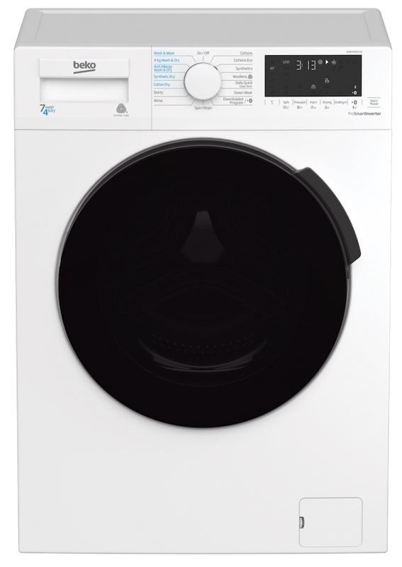 Beko WDB7426S1CW Washer Dryer