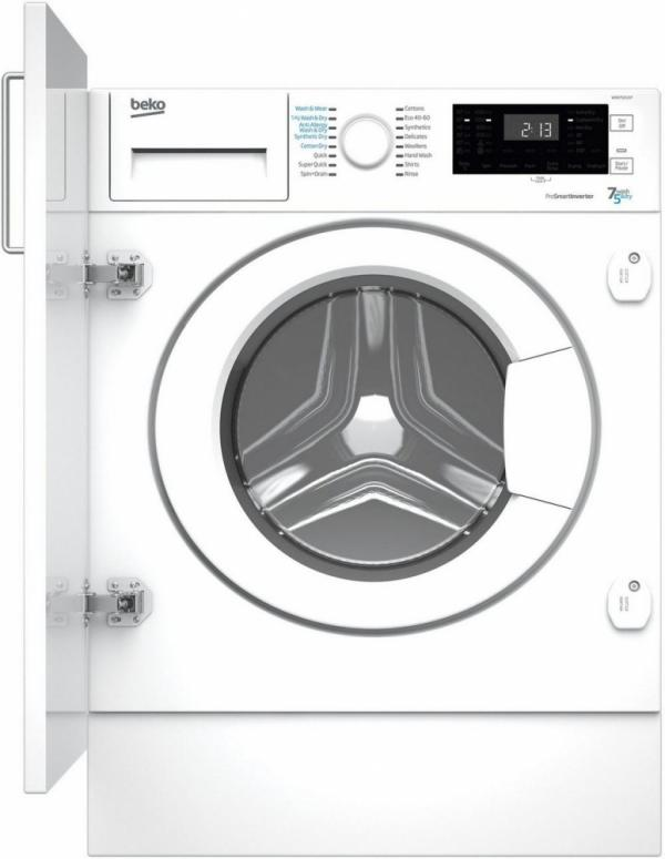 Beko WDIK752121F Integrated Washer Dryer