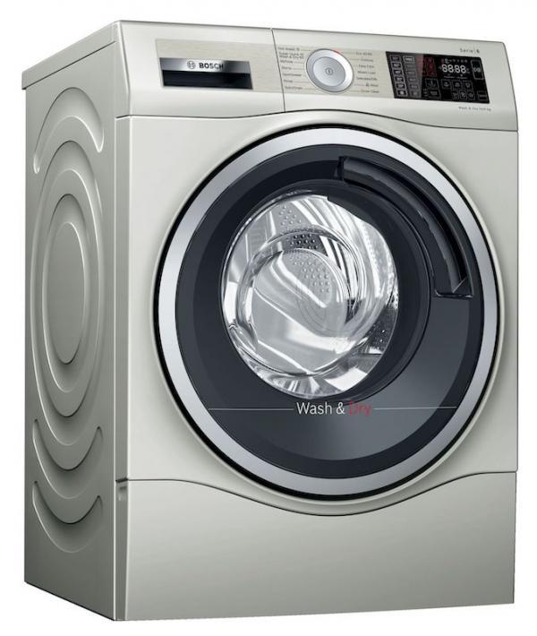 Bosch WDU28569GB Stainless Steel Washer Dryer