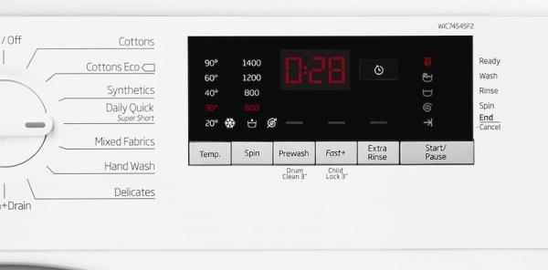 Beko WIC74545F2 Integrated Washing Machine