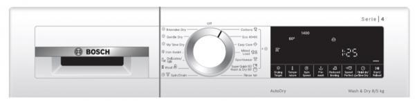 Bosch WNA134U8GB Serie 4 8/5kg Washer Dryer