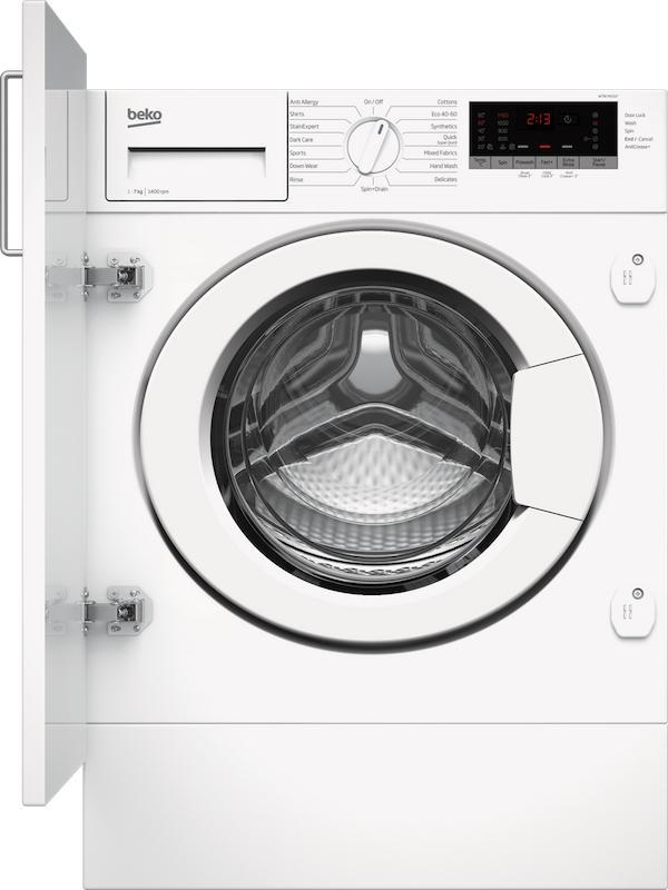 Beko WTIK74151F Integrated Washing Machine