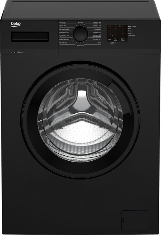 Beko WTK72042B Black Washing Machine