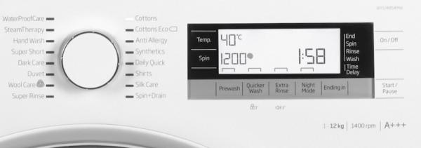Beko WY124854MW High Capacity Washing Machine