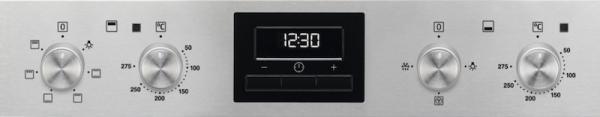 Zanussi ZOD35660XK Double Oven