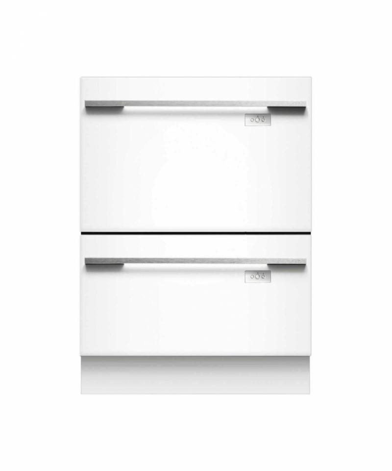 Fisher & Paykel DD60DHI7 Integrated Double DishDrawer | Whitakers of