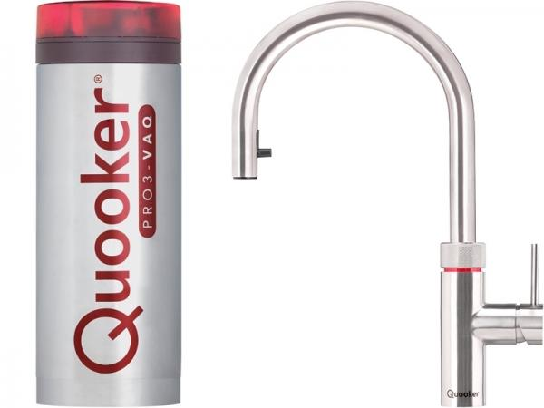 quooker 3xrvs pro3 flex stainless steel boiling water tap. Black Bedroom Furniture Sets. Home Design Ideas