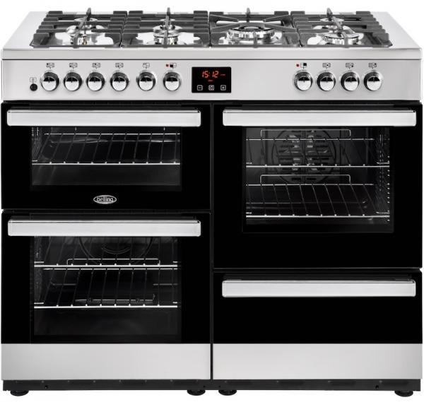 Belling 444444094 110DFT Cookcentre Dual Fuel Range Cooker (Display)