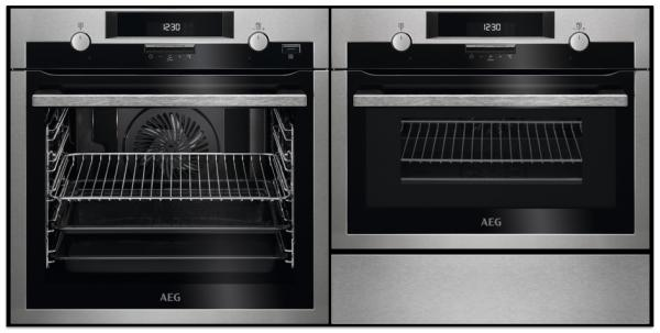 AEG BPS551220M / KME561000M / KDE911422M - Single Oven / Combi / Warming Drawer Pack