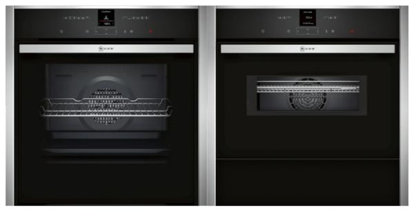 Neff B57CR23N0B / C17MR02N0B / N17ZH10N0 / Z11SZ60X0 - Single Oven / Combi / Cold Drawer / Trim Pack