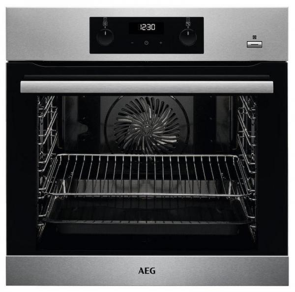 AEG BES255011M SteamBake Single Oven
