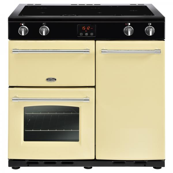 Belling 444444132 90EI Cream Farmhouse Electric Range Cooker