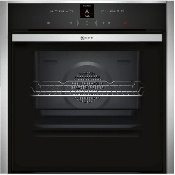 Neff B57CR23N0B Slide & Hide Pyrolytic Single Oven
