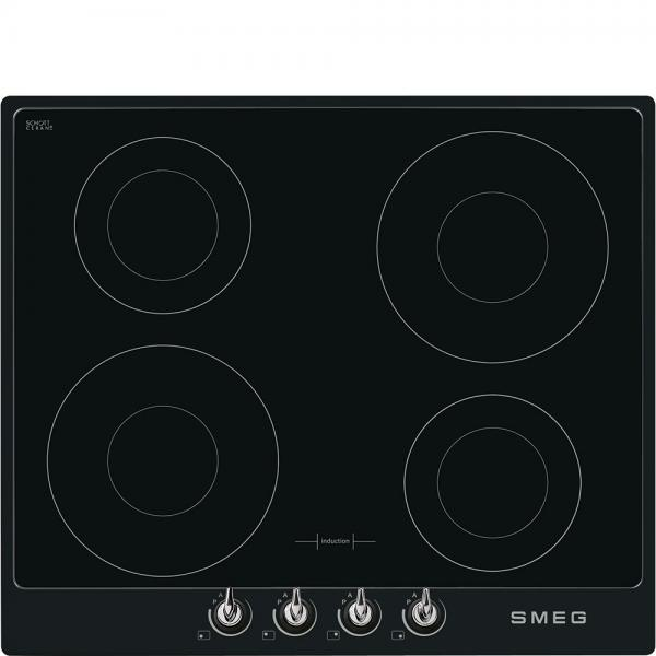 Smeg PI964N 60cm Black 'Victoria' Induction Hob