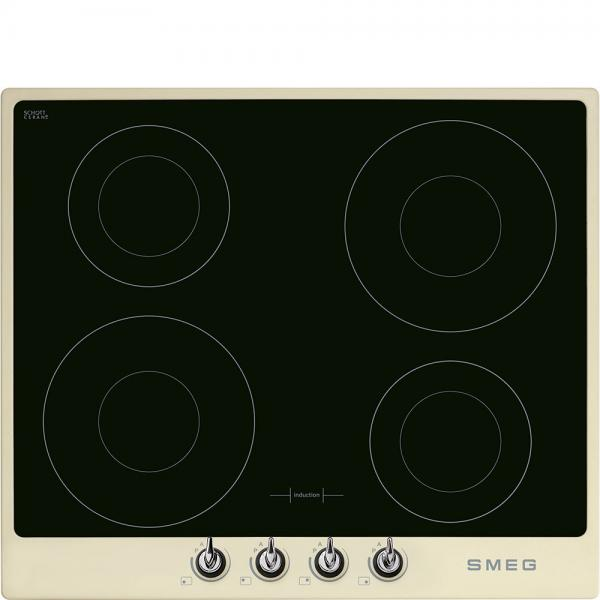 Smeg PI964P 60cm Cream 'Victoria' Induction Hob
