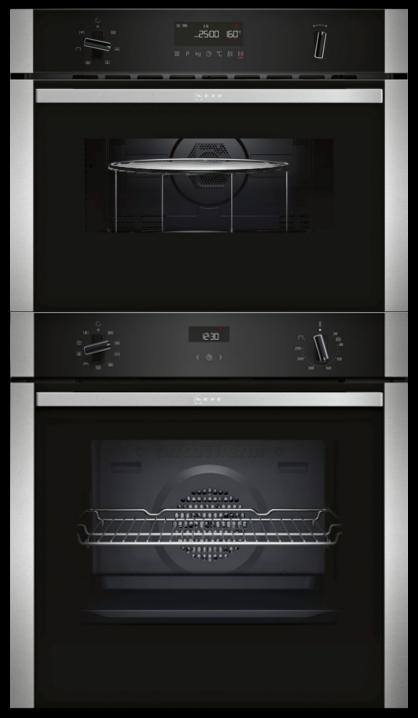 Neff B1ACE4HN0B / C1AMG83N0B - Single Oven / Combi Pack