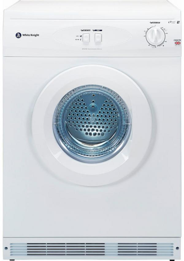 White Knight C44A7W Vented Tumble Dryer