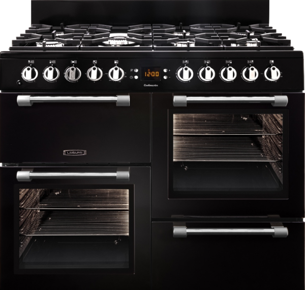 Leisure CK100G232K Black Cookmaster 100cm Gas Range Cooker