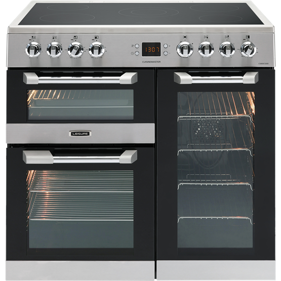 Leisure CS90C530X Stainless Steel Cuisinemaster 90cm Electric Range Cooker