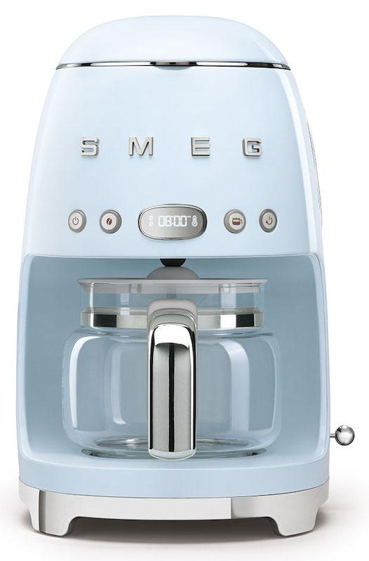 Smeg DCF02PBUK Retro 50's Pastel Blue Drip Filter Coffee Machine