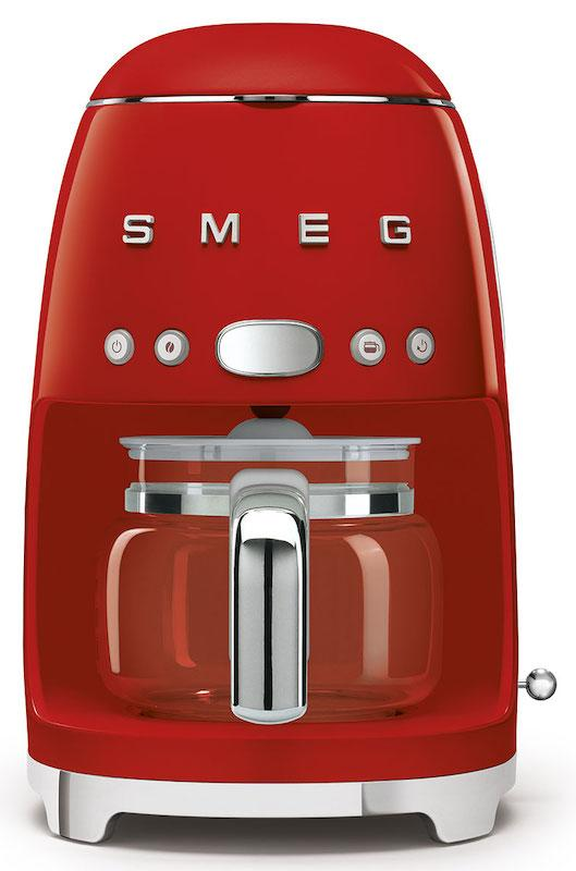 Smeg DCF02RDUK Retro 50's Red Drip Filter Coffee Machine