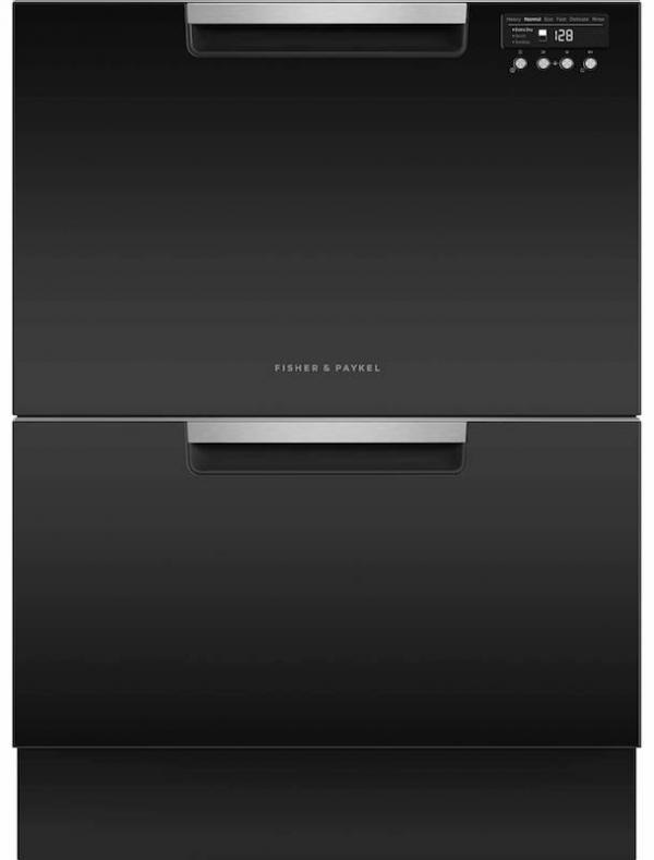 Fisher & Paykel DD60DCHB9 Built-In Double DishDrawer