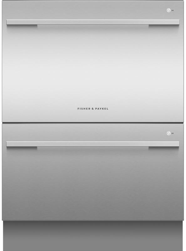 Fisher & Paykel DD60DDFHX9 Integrated Double Dishdrawer