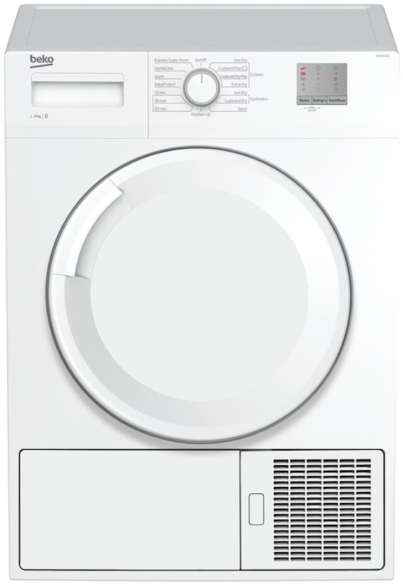 Beko DTGC8001W Condenser Tumble Dryer
