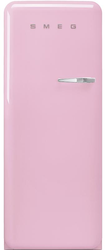 Smeg FAB28LPK3UK Retro Tall Fridge with Ice Box