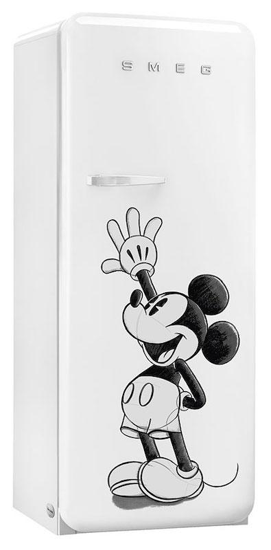 Smeg FAB28RDMM4 Retro Tall Fridge with Ice Box