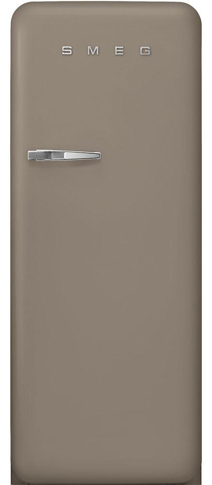 Smeg FAB28RDTP3 Retro Taupe Fridge with Ice Box