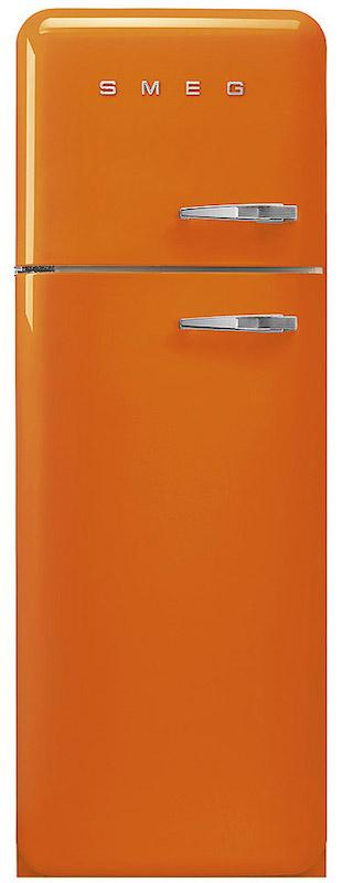 Smeg FAB30LOR3 50's Retro Orange Fridge Freezer