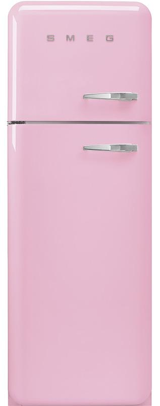 Smeg FAB30LPK3 50's Retro Pink Fridge Freezer