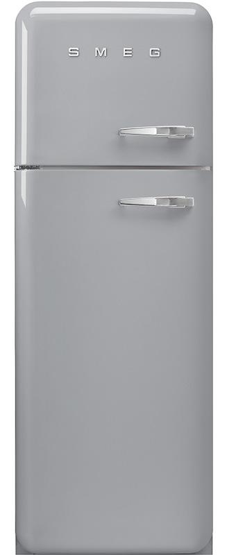 Smeg FAB30LSV3 50's Retro Silver Fridge Freezer