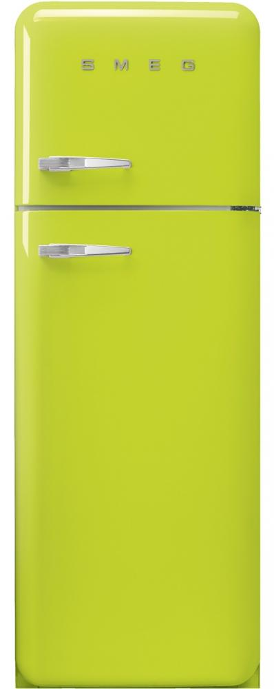 Smeg FAB30RLI3 50's Retro Lime Green Fridge Freezer
