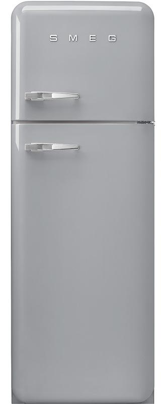 Smeg FAB30RSV3 50's Retro Silver Fridge Freezer