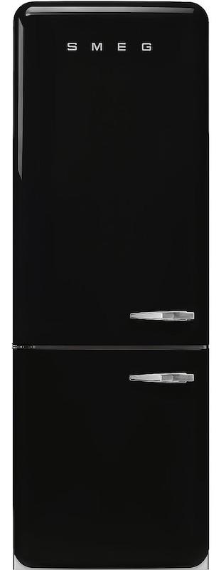 Smeg FAB38LBL 70cm 50's Retro Black Fridge Freezer