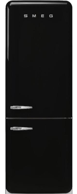 Smeg FAB38RBL 70cm 50's Retro Black Fridge Freezer