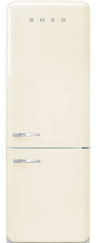 Smeg FAB38RCR 70cm 50's Retro Cream Fridge Freezer