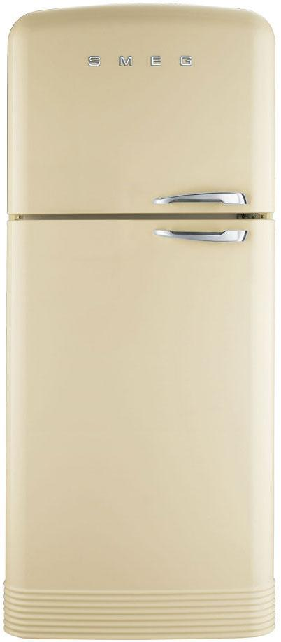 Smeg FAB50LCR Left Hinged Retro Fridge Freezer