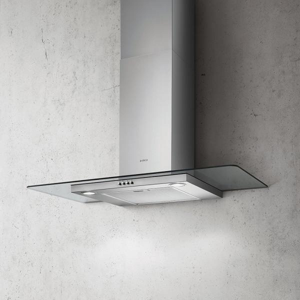 Elica Flat Glass IX/A/90 90cm Cooker Hood (EX DISPLAY)