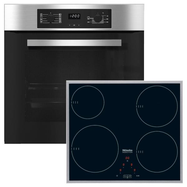 Miele 98002900 H2265B / KM6115 - Single Oven / Induction Hob Pack
