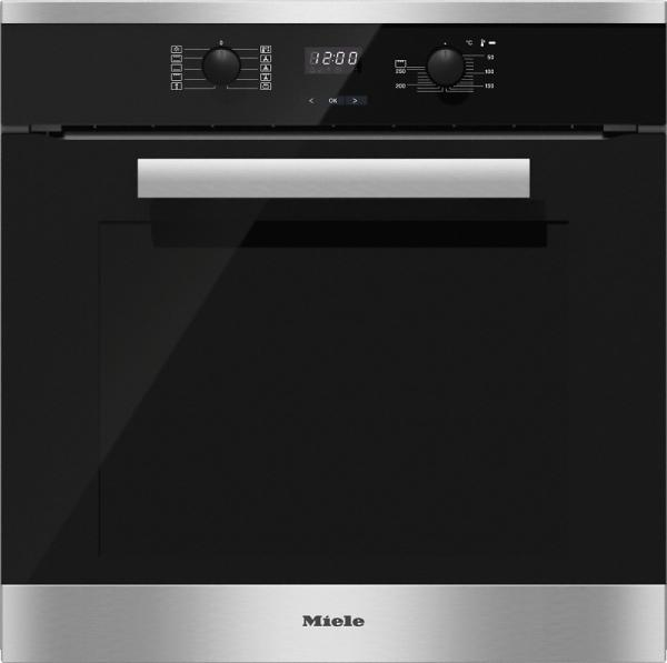 miele h 2661 1 b h2661 1b built in single oven whitakers of shipley