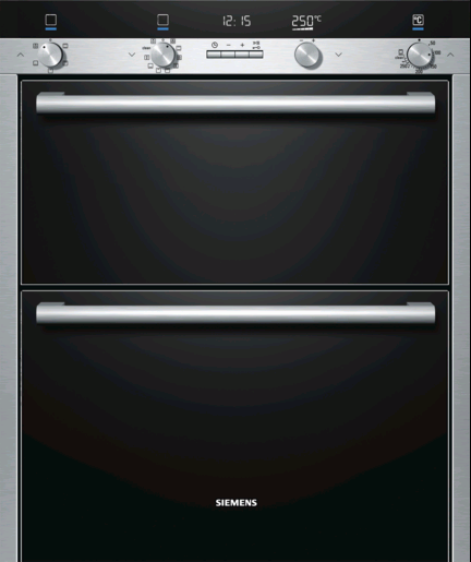 Siemens Hb55nb550b Built Under Double Oven Whitakers Of
